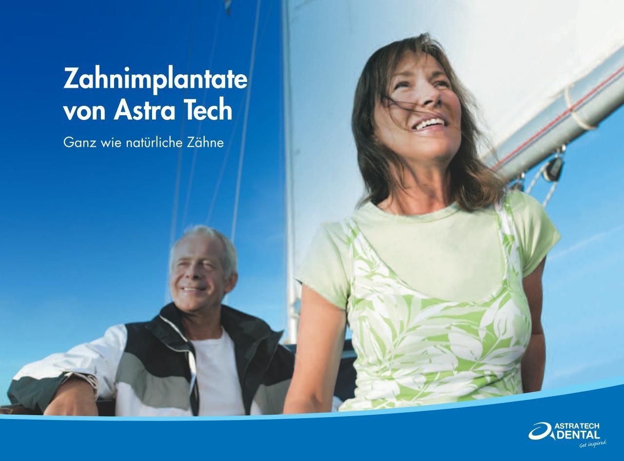 Zahnimplantate Informationsbroschüre